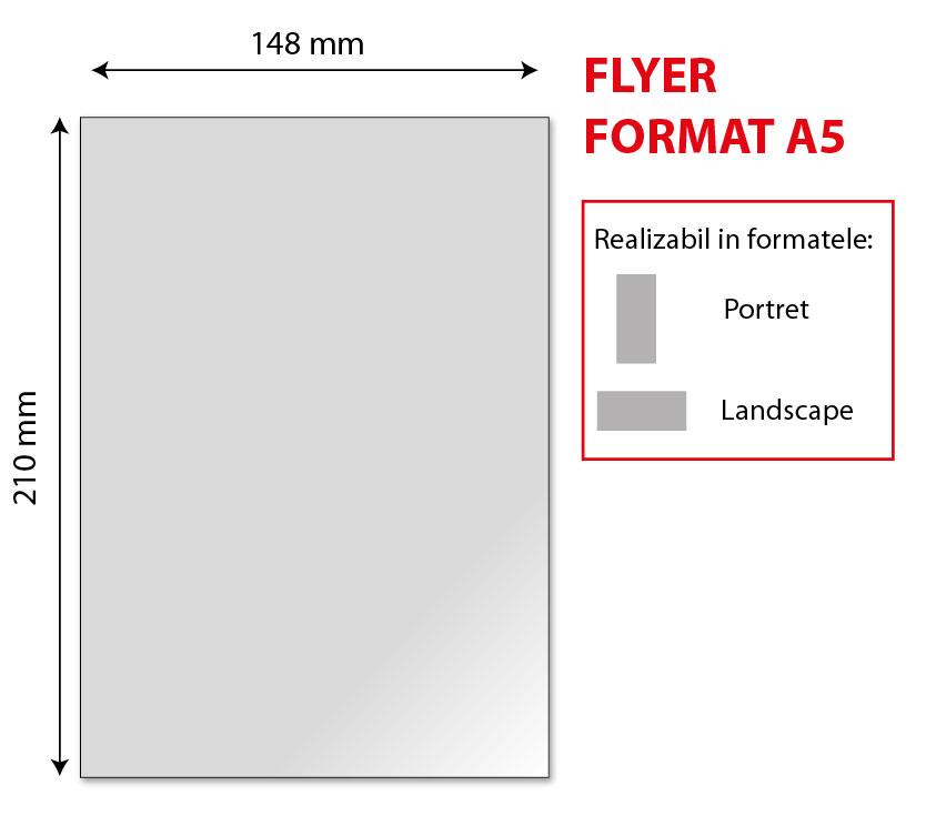 flyer model A5